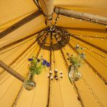 Tipi Hire Lighting