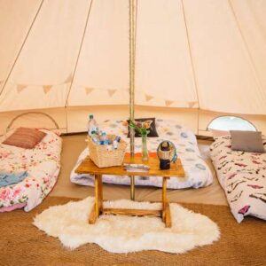 ultimate glamping package