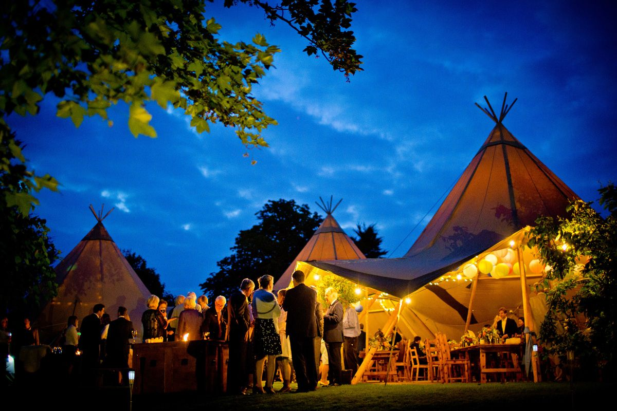 Epic Tipi Hire for your wedding