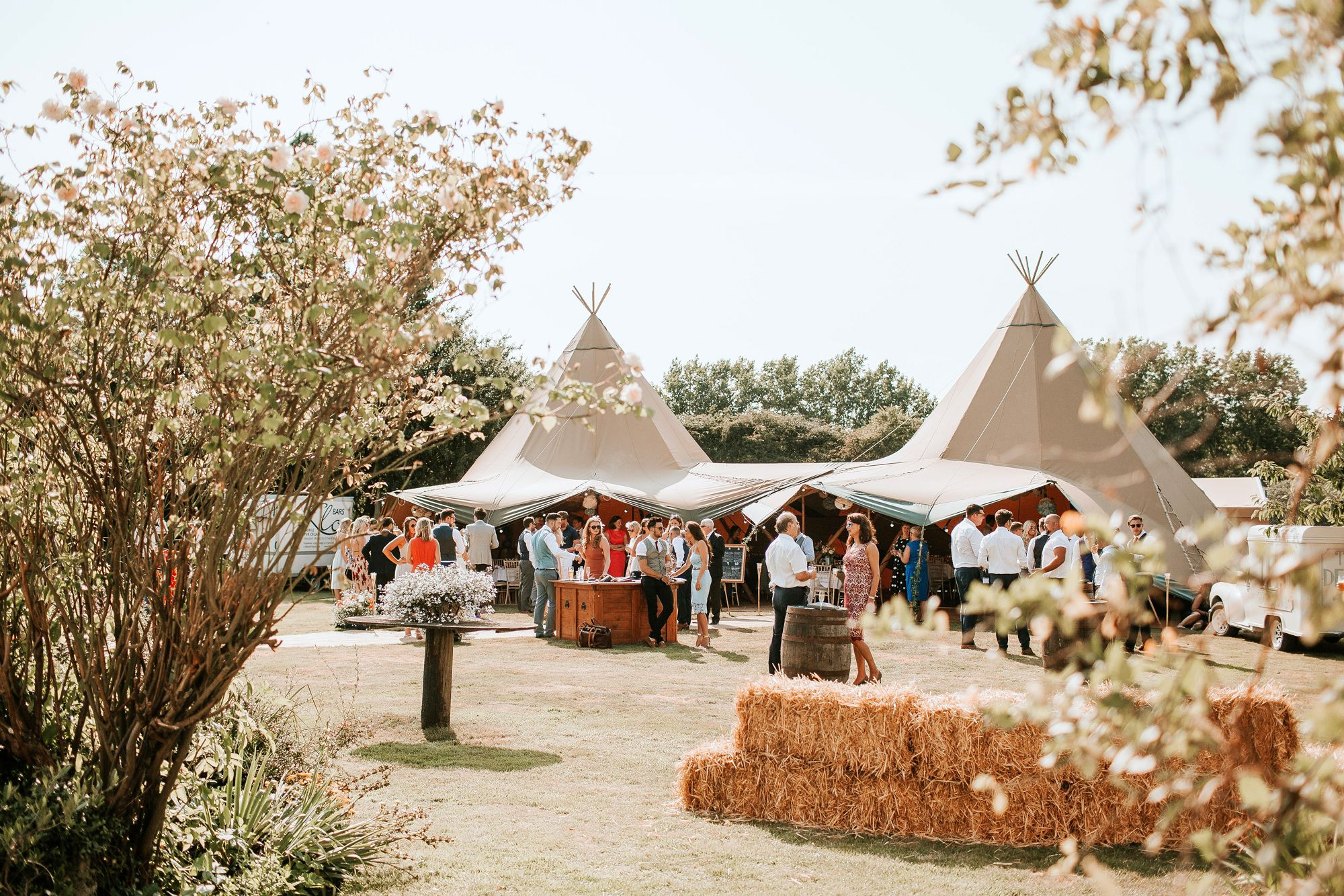 Epic Tipi Hire for weddings