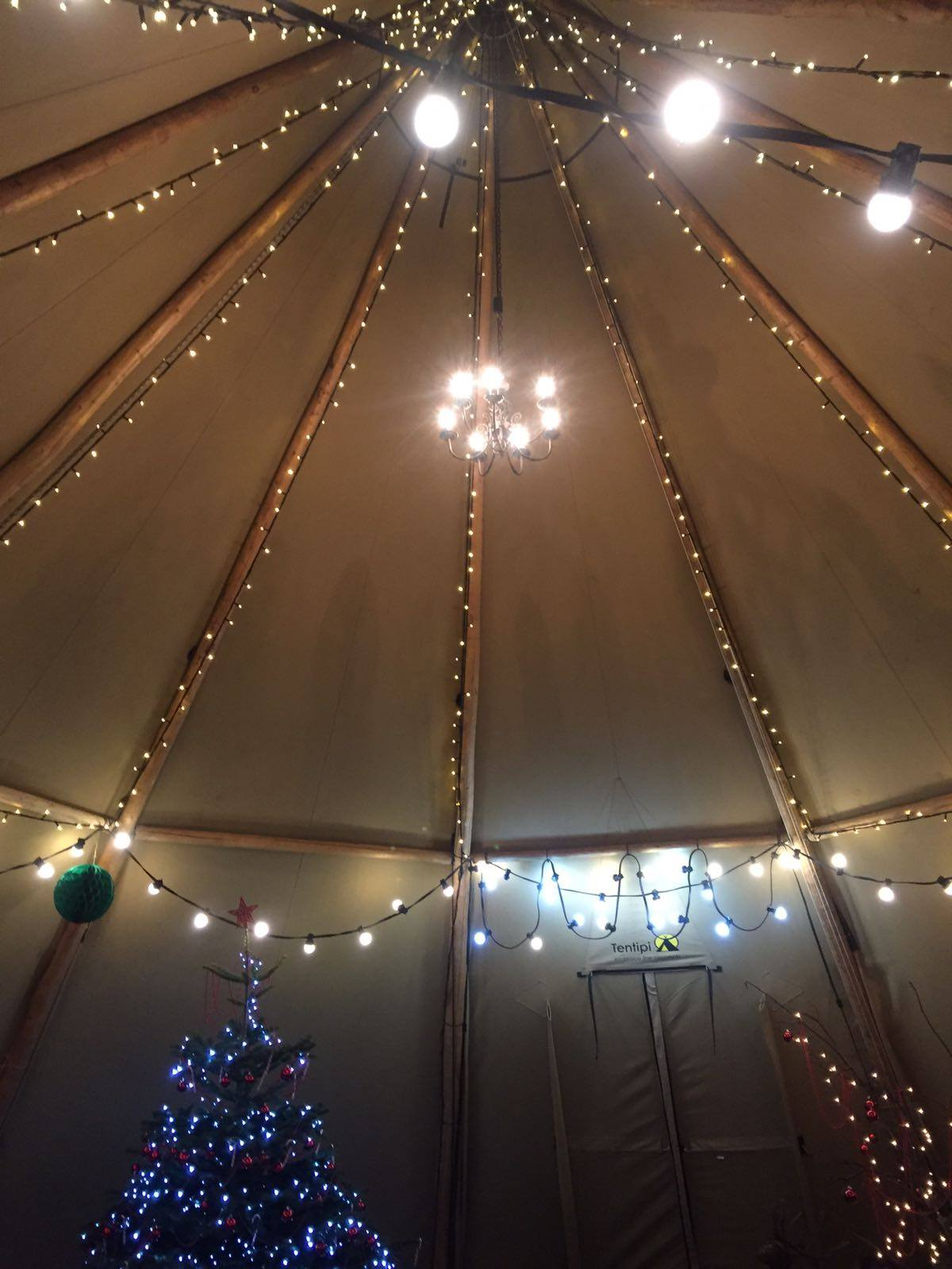 Christmas Tipi Hire C