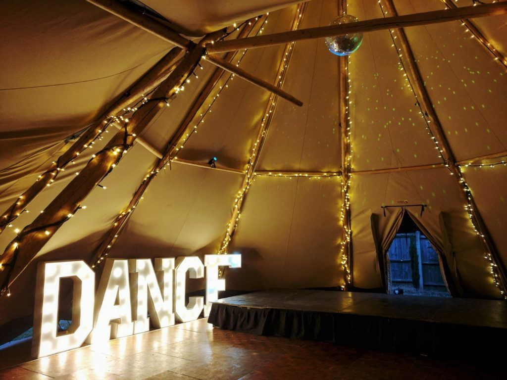 Winter Event Tipi Hire
