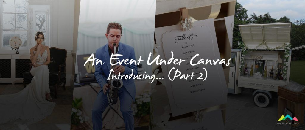 Tipi wedding show part 2