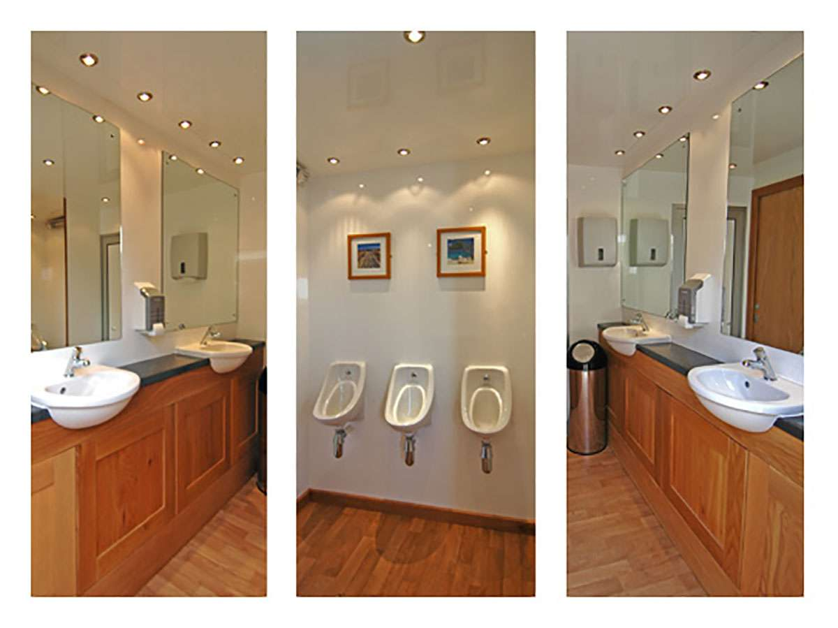Luxury toilets supplied for events
