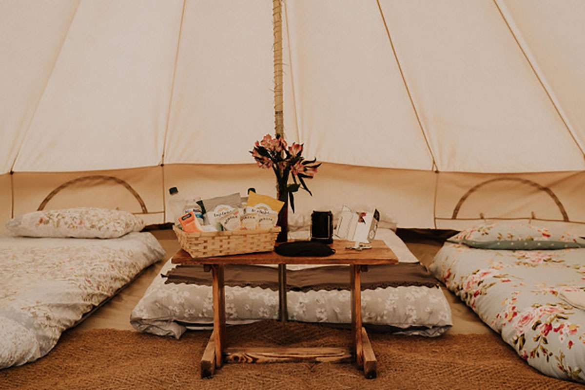 ultimate glamping tent