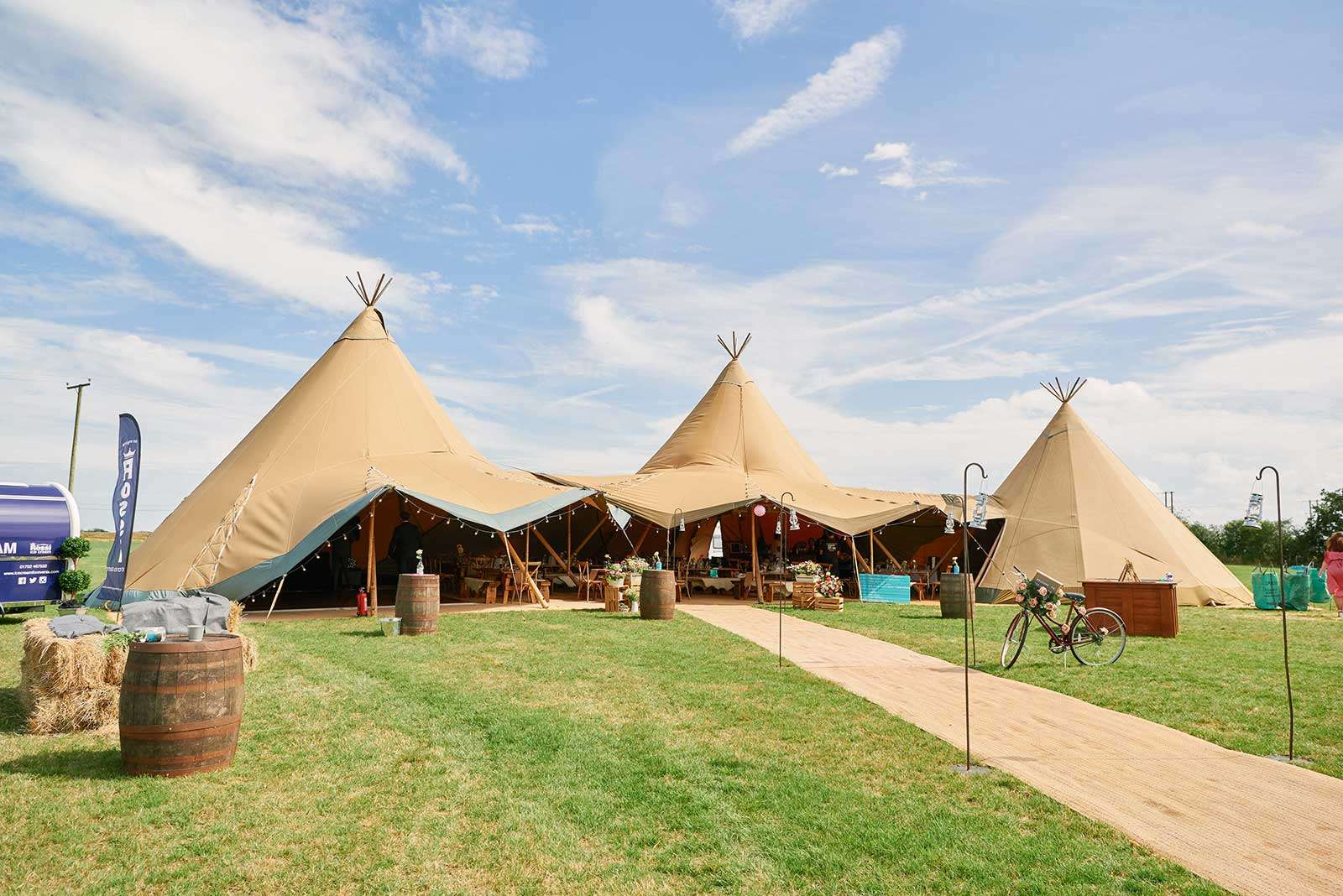wedding tipis for hire essex
