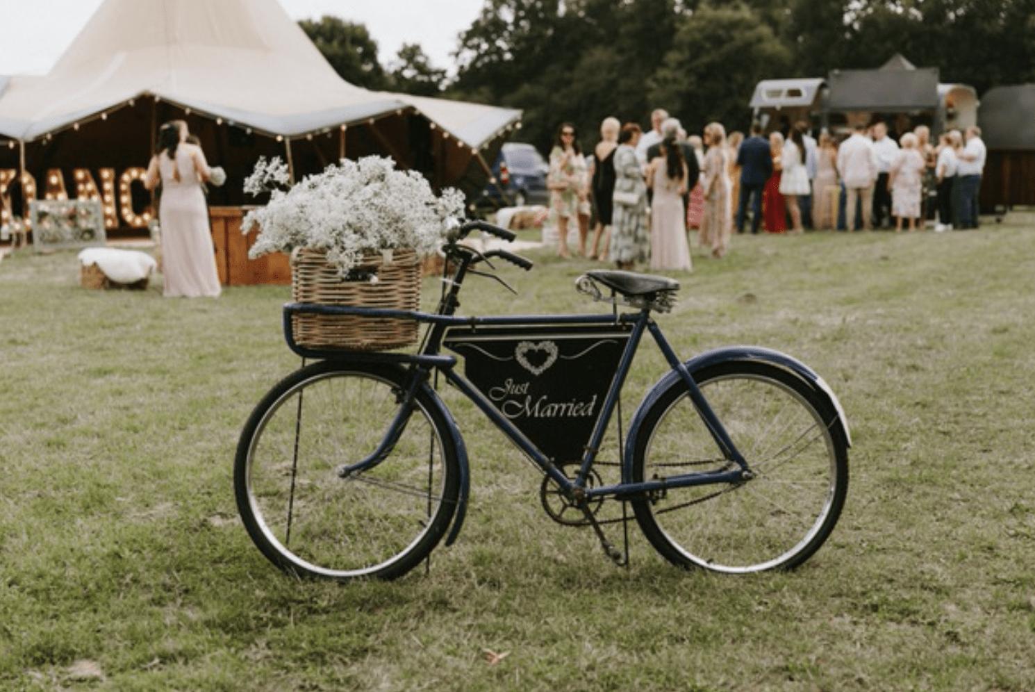 Just Married Bike