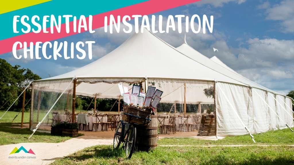 Essential Installation Checklist Graphic